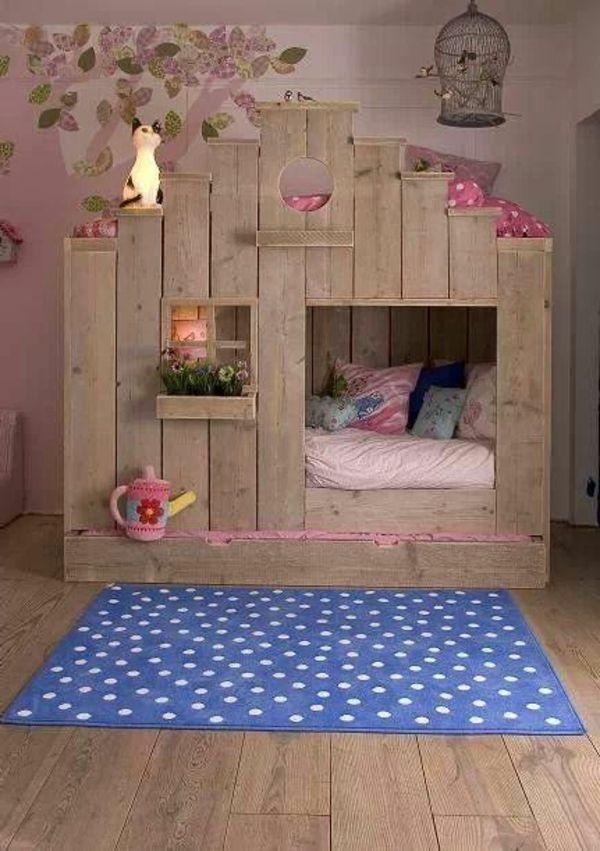 kinderbett aus holz kinderzimmer pinterest kinderbetten holz und kinderzimmer. Black Bedroom Furniture Sets. Home Design Ideas
