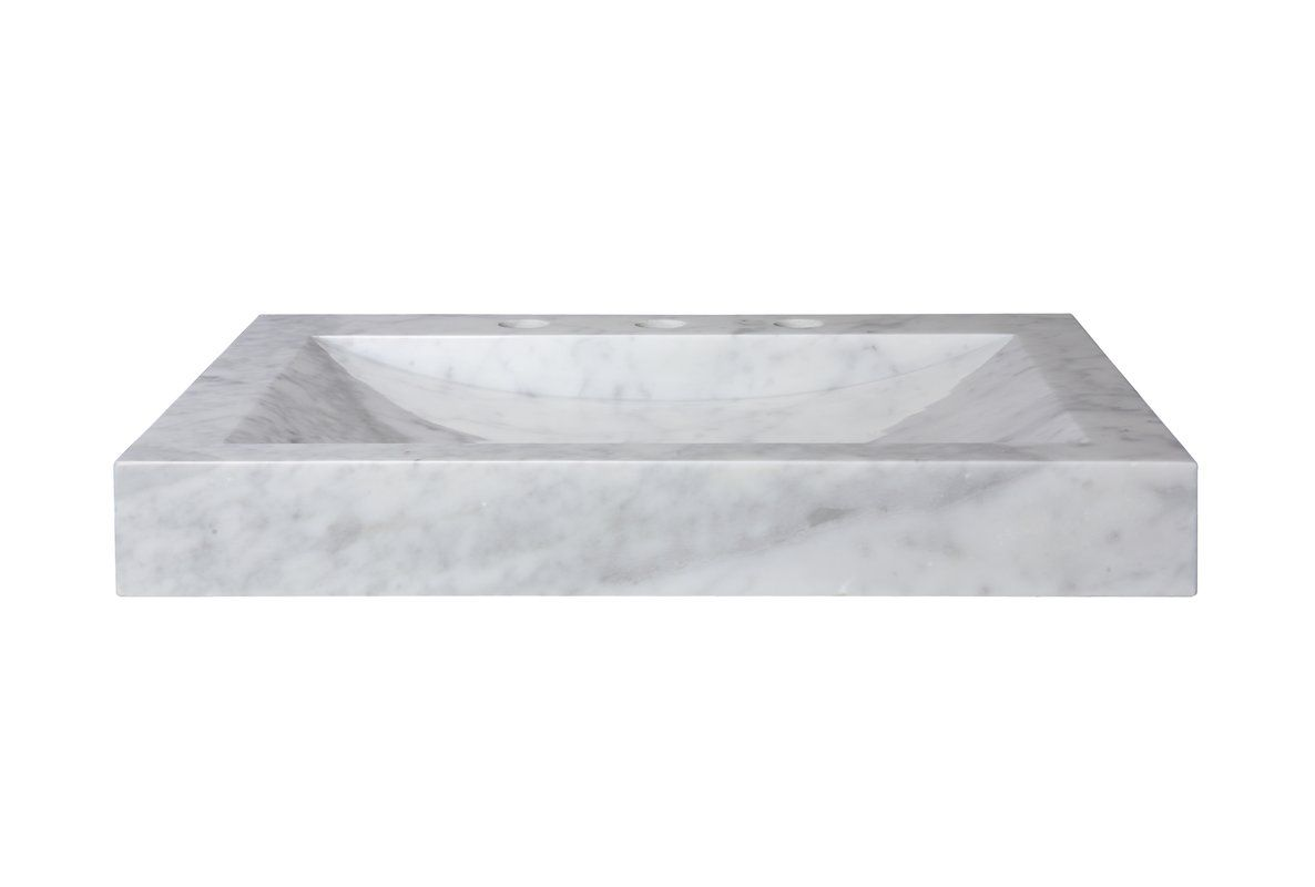 24 Marble Vanity Top With Integrated Bowl Marble Vanity Tops