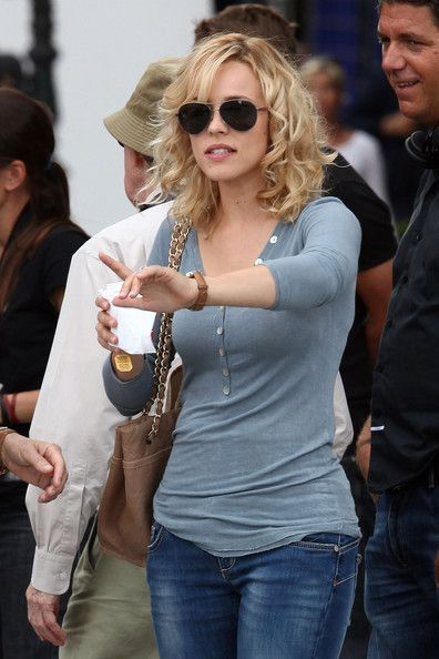 More Pics Of Rachel Mcadams Aviator Sunglasses Tea For