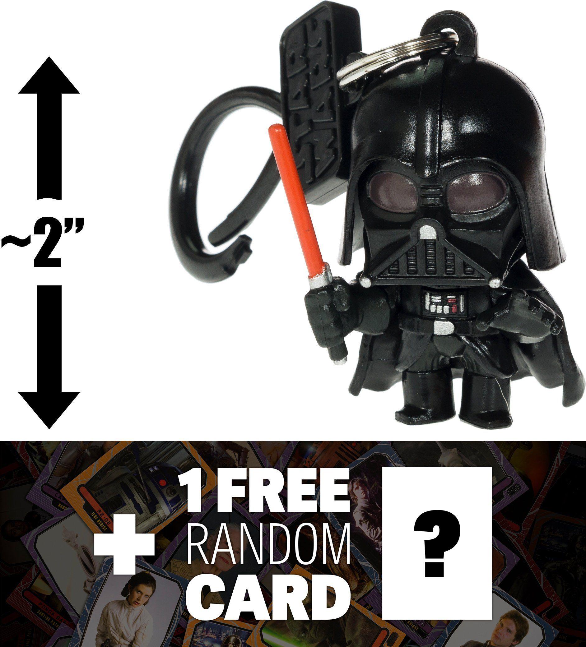 Darth Vader: ~2 Star Wars MiniFigural Bag Clip 1 FREE
