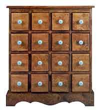 Project plan for 16 drawer apothecary chest | Herbal remedies and ...