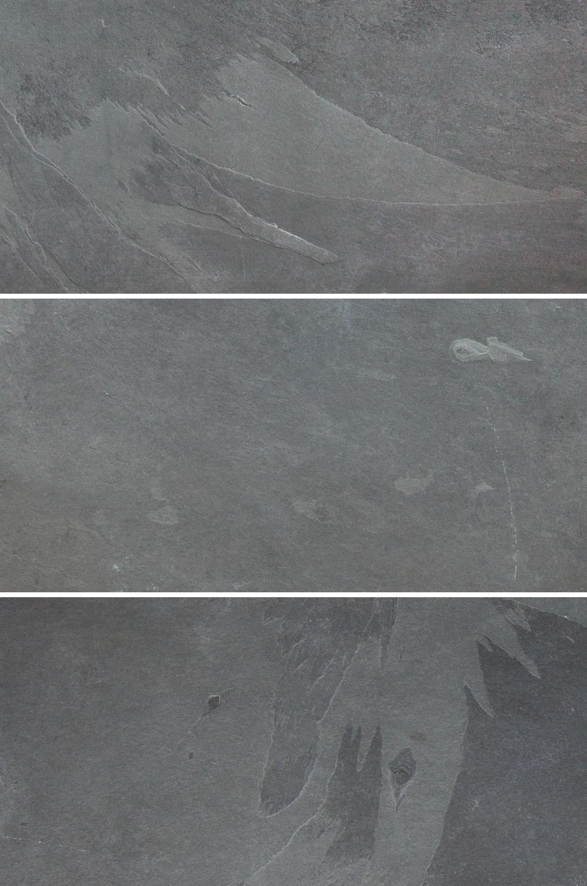 Pizarra Black Slate From Stone Tile Boys Bathroom Floor