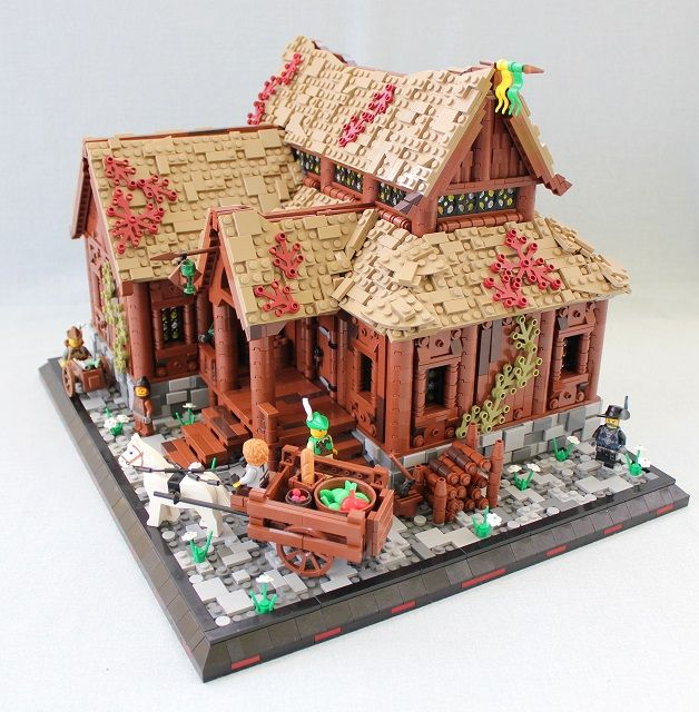 Lego MOCs Fantasy ~ The Green Goblet, side Lego MOCs Fantasy - minecraft küche bauen