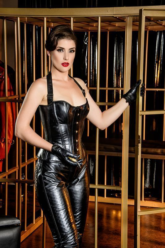 Pin on leather dress