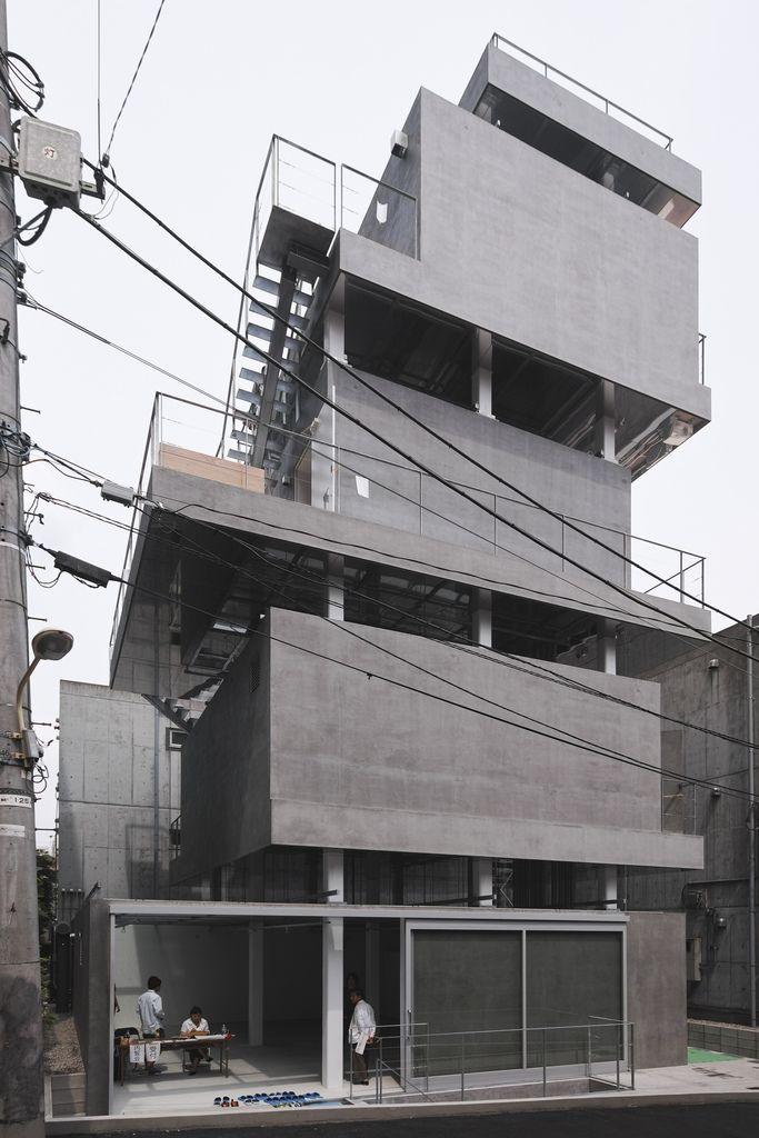 JINGUMAE BUILDING • Tokyo, Japan • 2012 • by Chuoarchi • www.chuoarchi.com