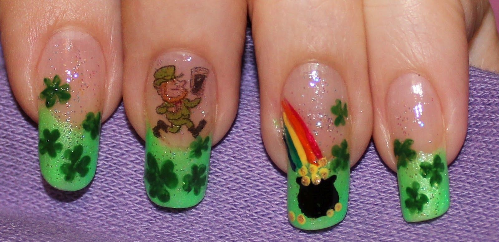 St. Patrick\'s Day Nail Designs | design special for st patrick s day ...