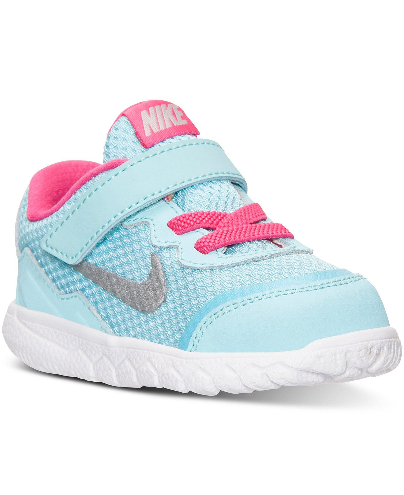 Macys baby hair accessories - Nike Toddler Girls Flex Experience 4 Running Sneakers From Finish Line Shoes Kids