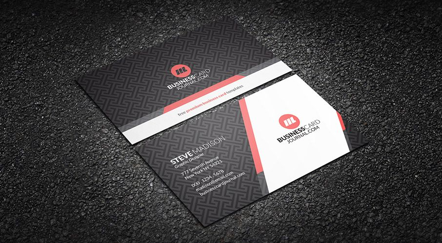 subtle background pattern corporate business card template more