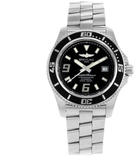 31b1029a589 Breitling Superocean 44 A1739102 BA77-162A Stainless Steel Automatic 44mm  Men