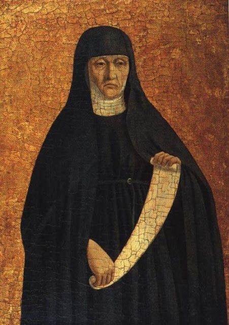 Piero della Francesca (1411-1492) An Augustinian Nun (Santa Monica),  Imagem Semanal: Irmãs Religiosas http://arteseanp.blogspot.com