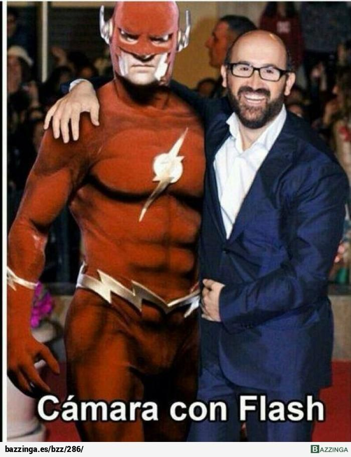 Flash con Cámara ¿Cómo te quedas?