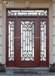 Resultado De Imagen Para Portones De Hierro Forjado Con Vidrio Puertas De Metal Puertas De Hierro Forjado Disenos De Puertas Metalicas