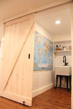 Create A Barn Door With A Simple Closet Track   Christina Katos
