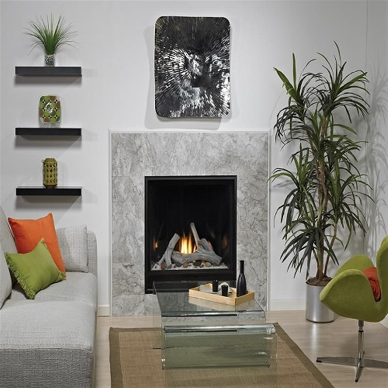 Madison Clean Face Premium Contemporary With Images Fireplace
