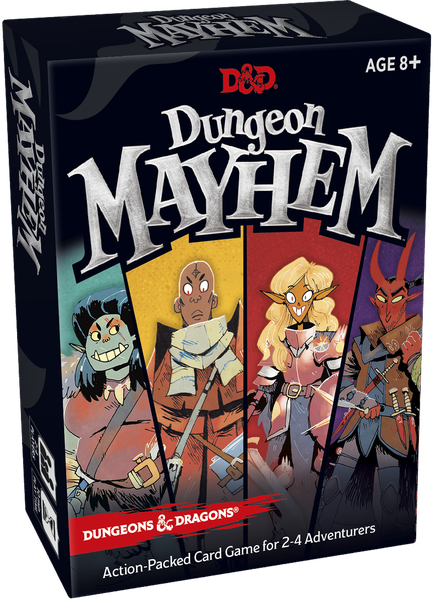 Dungeon Mayhem Image Boardgamegeek Dungeons And Dragons Party Card Games Card Games
