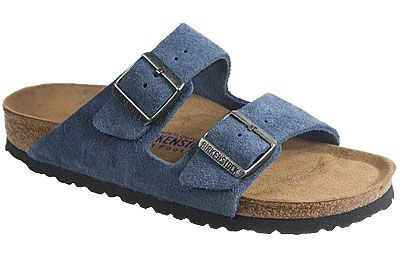 7c69ccdf9d5ac6 Birkenstock Arizona Soft Footbed Turquoise Suede If you have sensitive  feet