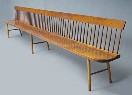 shaker bench need a couple of these in black for our. Black Bedroom Furniture Sets. Home Design Ideas