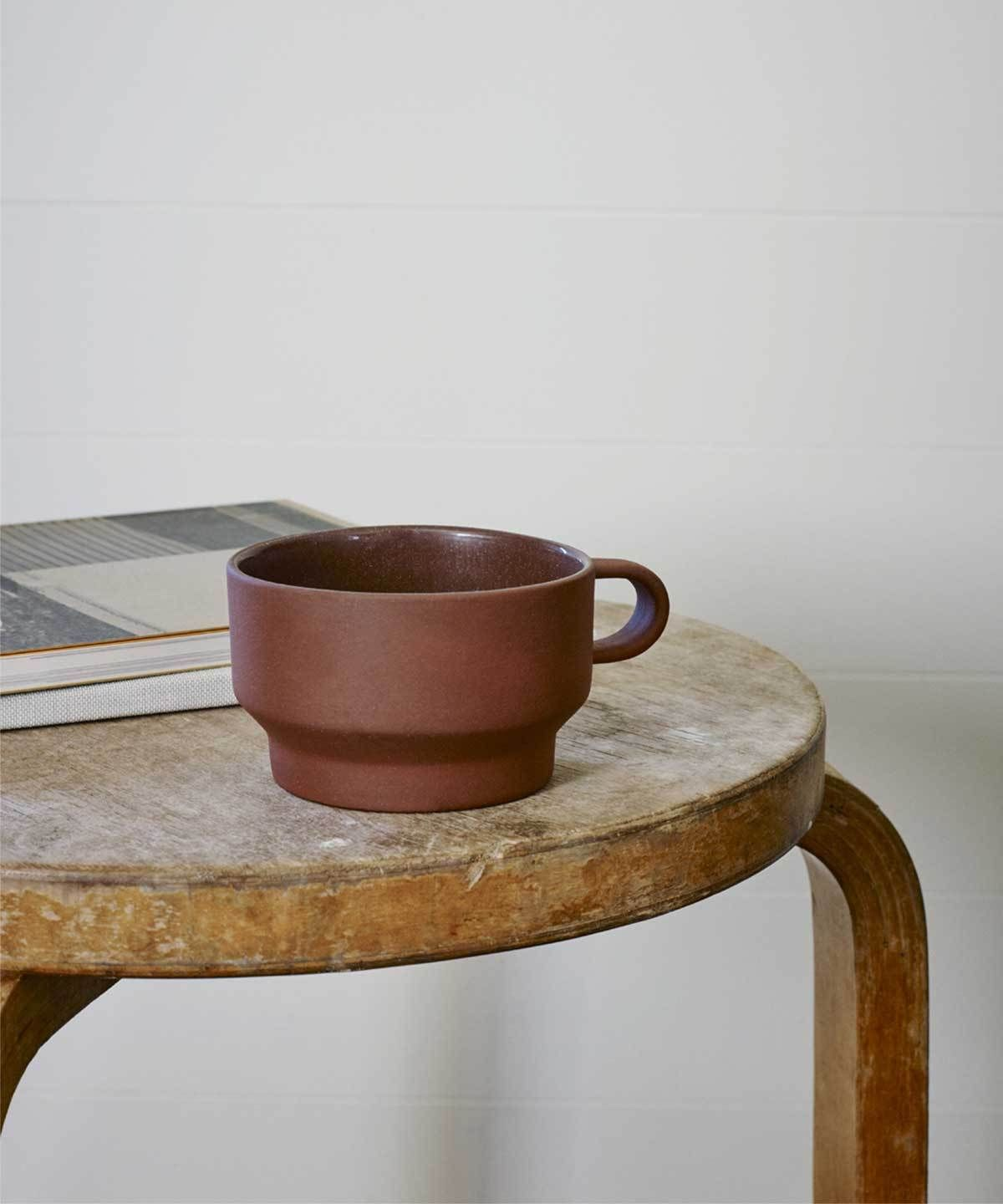 A Danish-designed tea set meant to enhance your soothing daily ritual.  The name of the design duo Stilleben translates to 'still life' which makes sense when considering their pieces feel closer to works of art than to home goods.  From Skagerak, a family-owned Scandinavian company with over four decades of experience creating sustainable furniture and home goods.  #tablewaredesign #kitchenideas #kitcheninteriors #kitchendecor #diningtabledecor