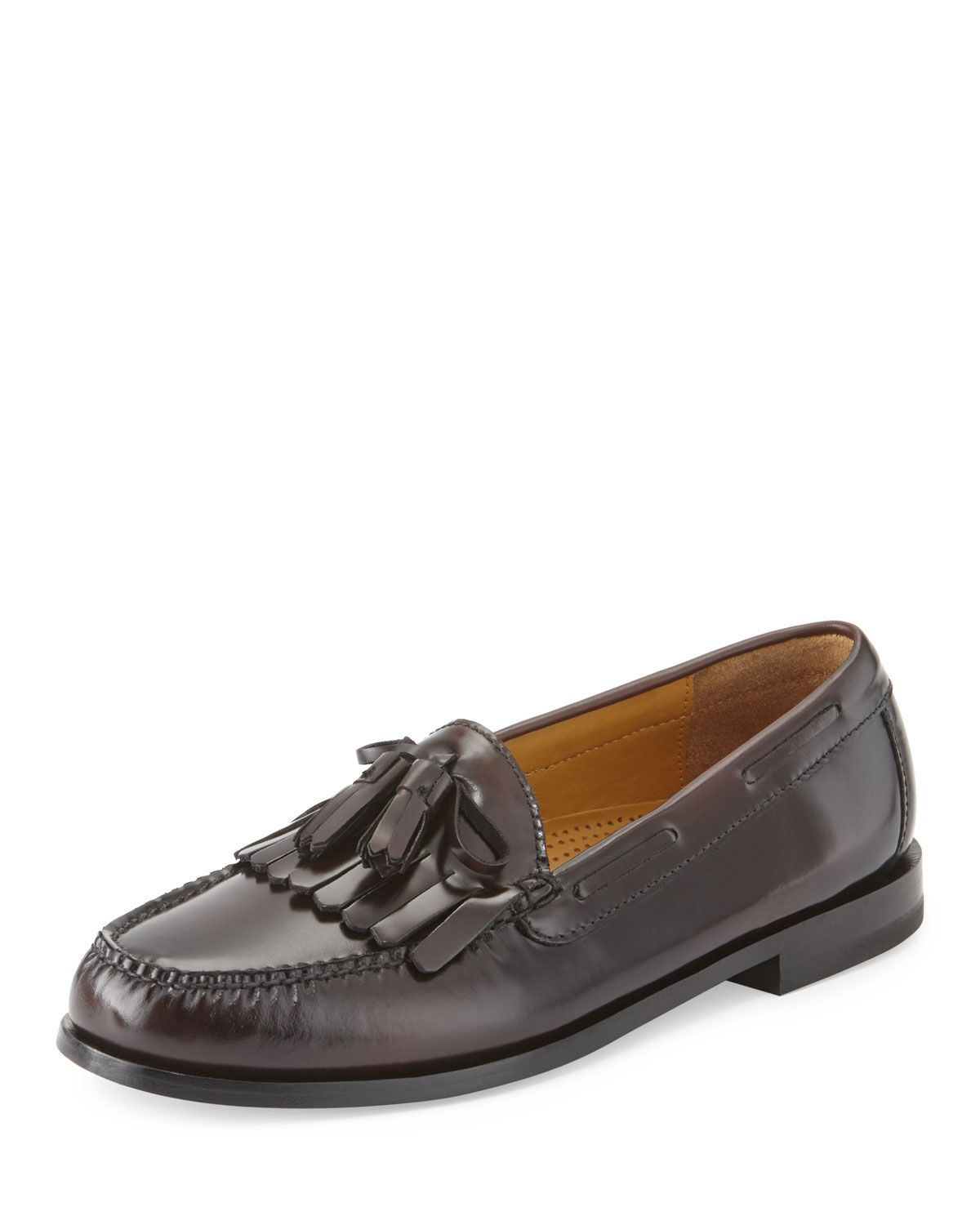 e4b82f75e09 Cole Haan Pinch Polished Leather Tassel Loafer