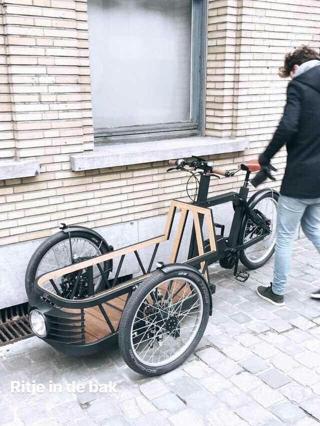 Lastenfahrrad Bild Von Mozart Auf Bikes Fahrrad Fahrraddesign