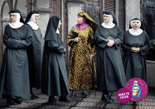 I Will Only Become A Nun If I Get To Wear The Leopard Habit Color Persil Fashion