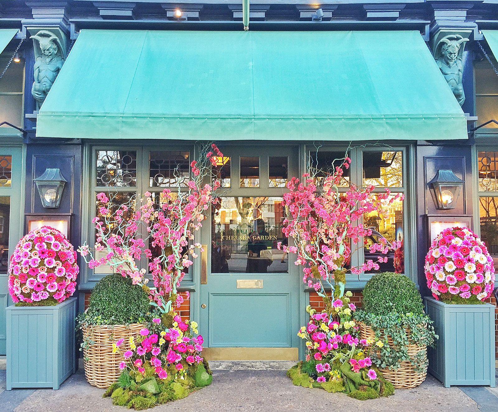 London (con imágenes) Decoración de unas, Locales, Flores