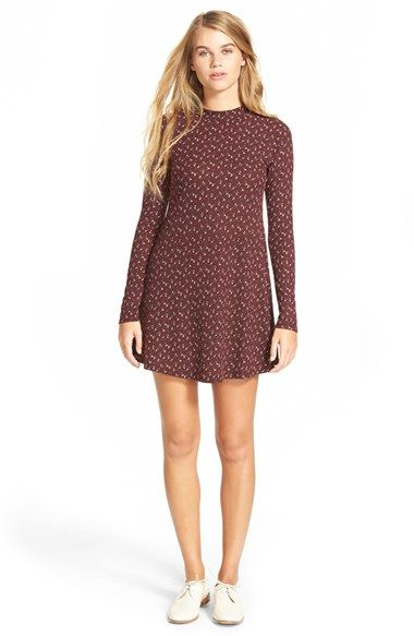 81e2c2cae52 Free shipping and returns on Lush Long Sleeve Knit Dress at Nordstrom.com.  As the temps drop