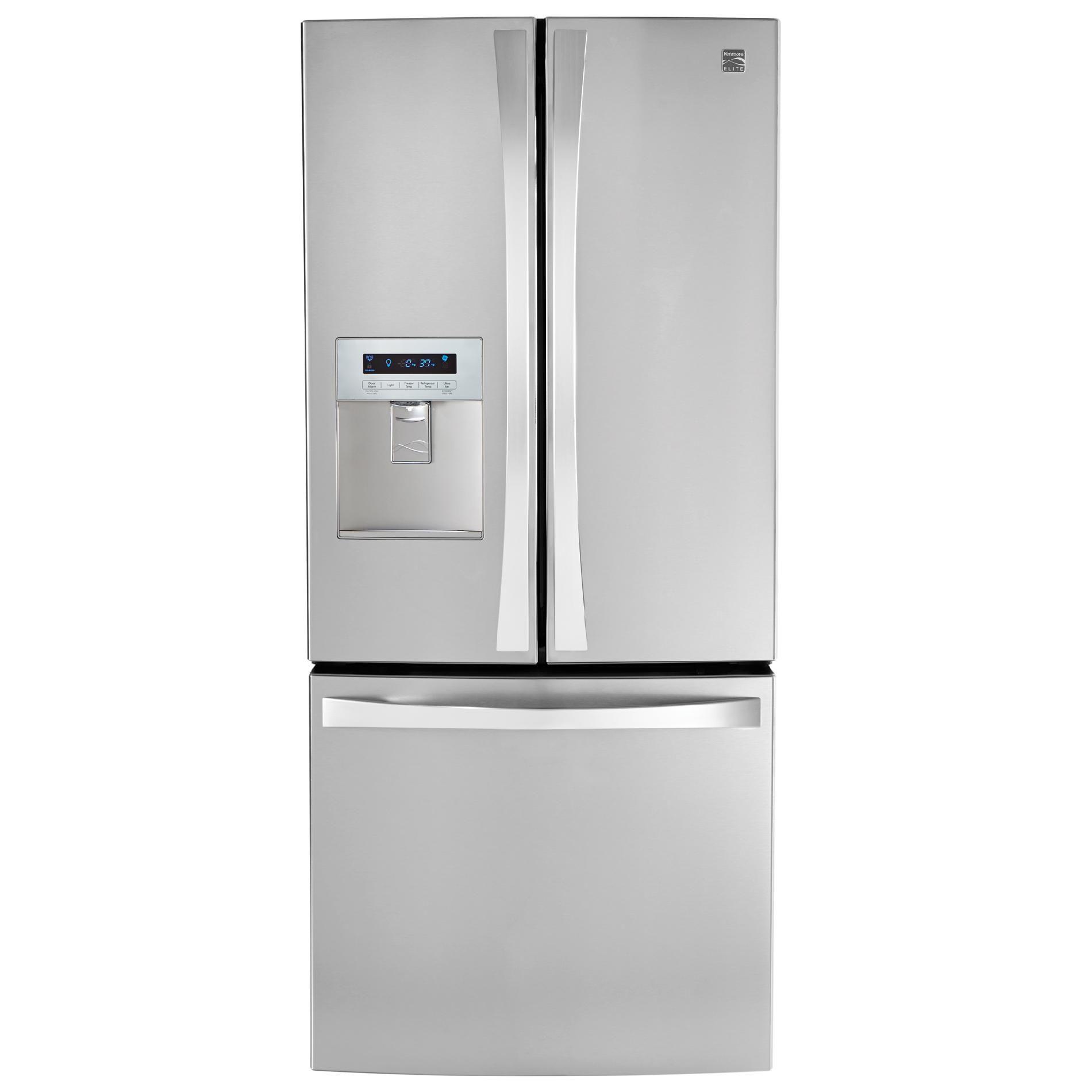 Kenmore Elite 71323 21 8 Cu Ft French Door Bottom Freezer Refr