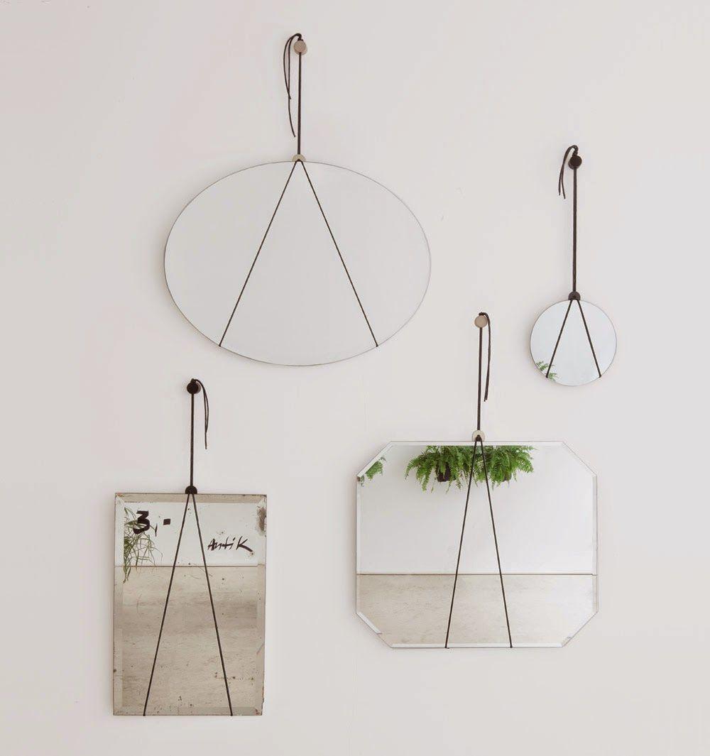 Diy mon petit miroir minimaliste home miroir petit miroir et deco for Miroir petit
