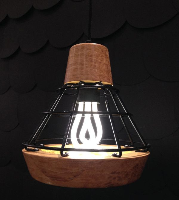 Liqui S Work Lamp Mimics The Lamps You See On Construction Sites But This One Is For
