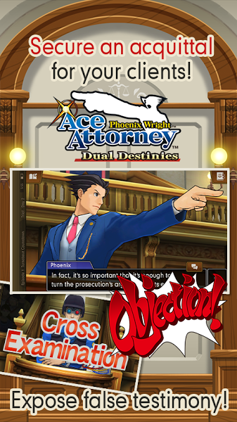 Ace Attorney Dual Destinies v1.0 Apk Mod Data http//www