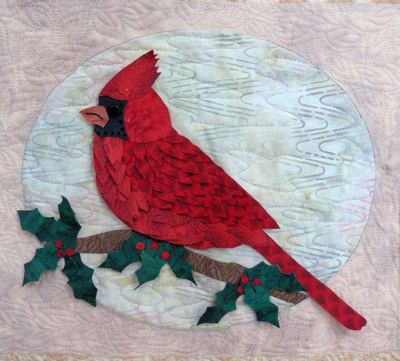 Cardinal Applique Templates Petal Play Quilt Patterns