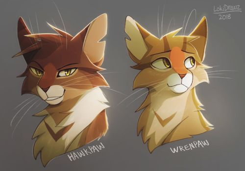 Brothers By Lokidrawz With Images Warrior Cats Art Warrior