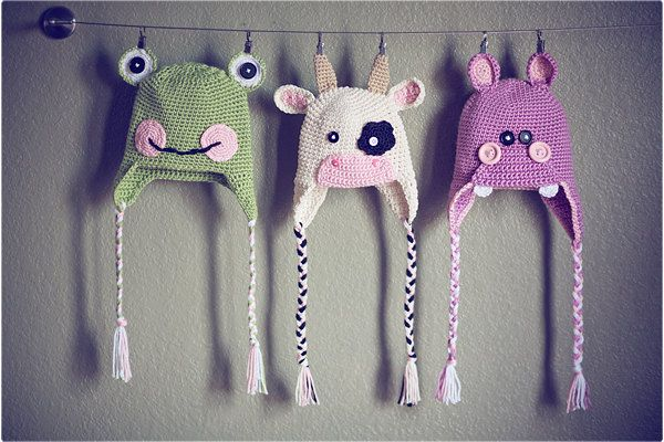 frog, cow, hippo