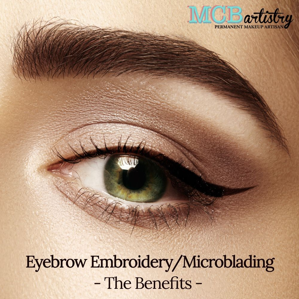 If your eyebrows are too light or too sparse, Eyebrow Embroidery/Microblading enhances the look of your eyebrows. It provides an uplifting, thickening and refreshing look to your eyebrows that perfectly frames your face.  Eyebrow Embroidery/Microblading is an easy procedure when done by MCBartistry, with little to no downtime. #sparseeyebrows If your eyebrows are too light or too sparse, Eyebrow Embroidery/Microblading enhances the look of your eyebrows. It provides an uplifting, thickening and #sparseeyebrows