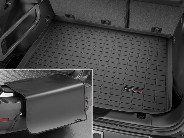 2019 Kia Soul Cargo Mat And Trunk Liner For Cars Suvs And Minivans Weathertech In 2020 Weather Tech Bumper Protector Cargo Liner