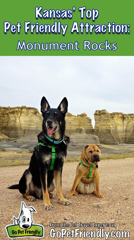 Kansas Top Pet Friendly Attraction Monument Rocks Road Trip