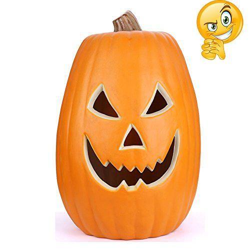 Ankola Halloween Props Pumpkin Lamp, Halloween AC Light Pumpkin Lamp