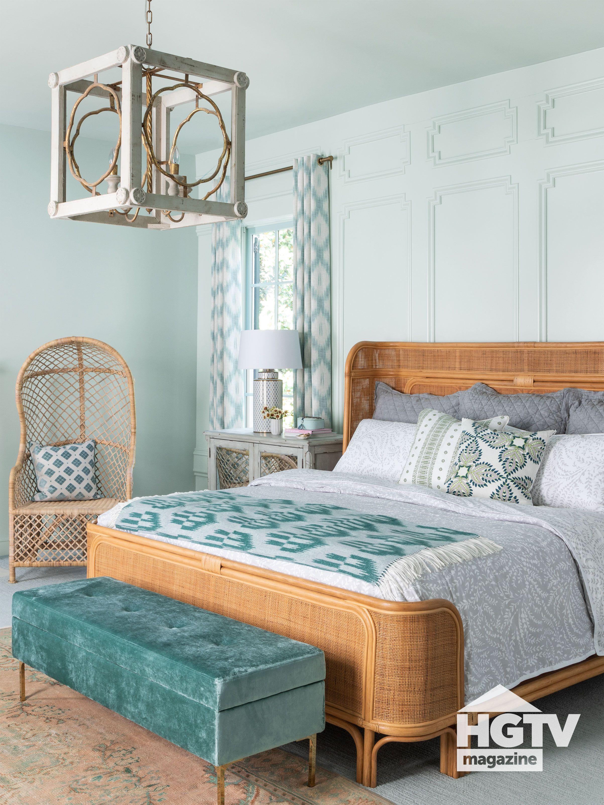 4+ HGTV Bedrooms ideas in 4  dreamy bedrooms, bedroom design