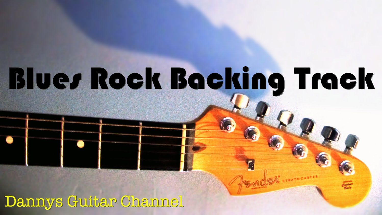 Blues Backing Track In A 12 Bar Blues Blues Rock Style Backing Tracks Blues Rock Guitar