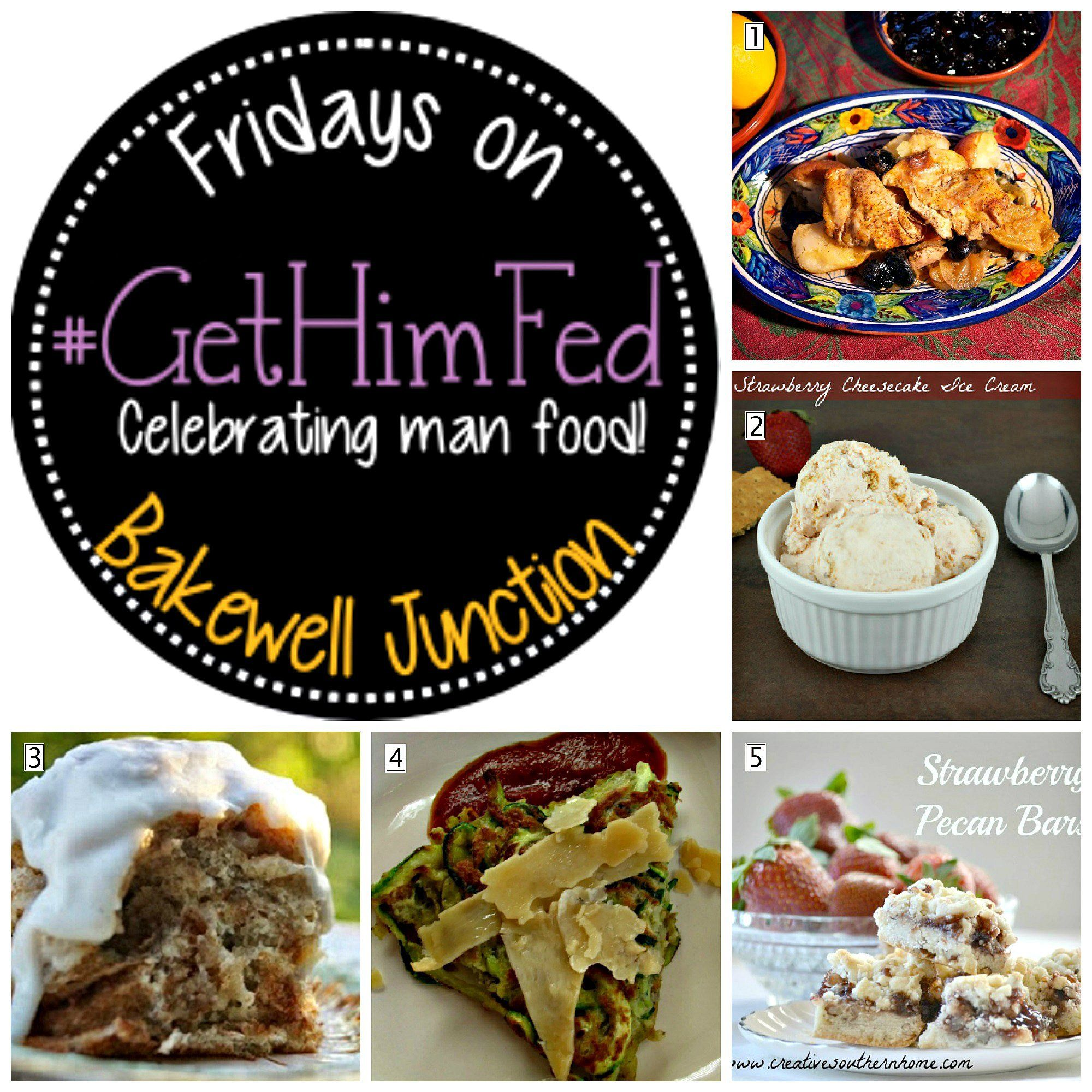 #GetHimFed No. 30 Features | Bakewell Junction Zucchini Pancake