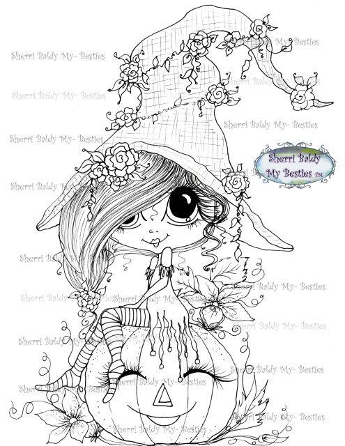 Happy Fall/Halloween Bestie img152 Instant download Sherri
