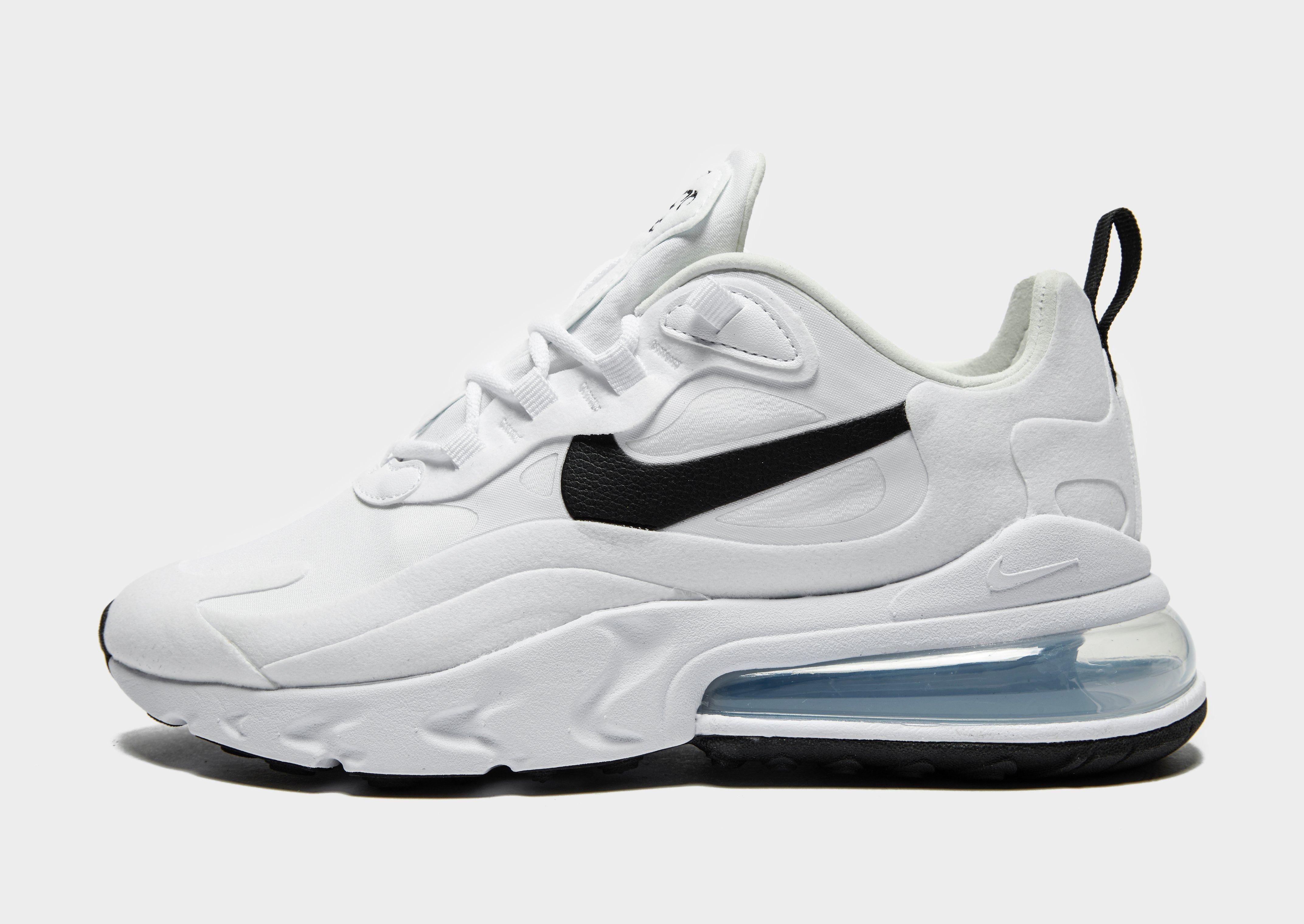 Shop online voor Nike Air Max 270 React Dames in Wit bij JD ...