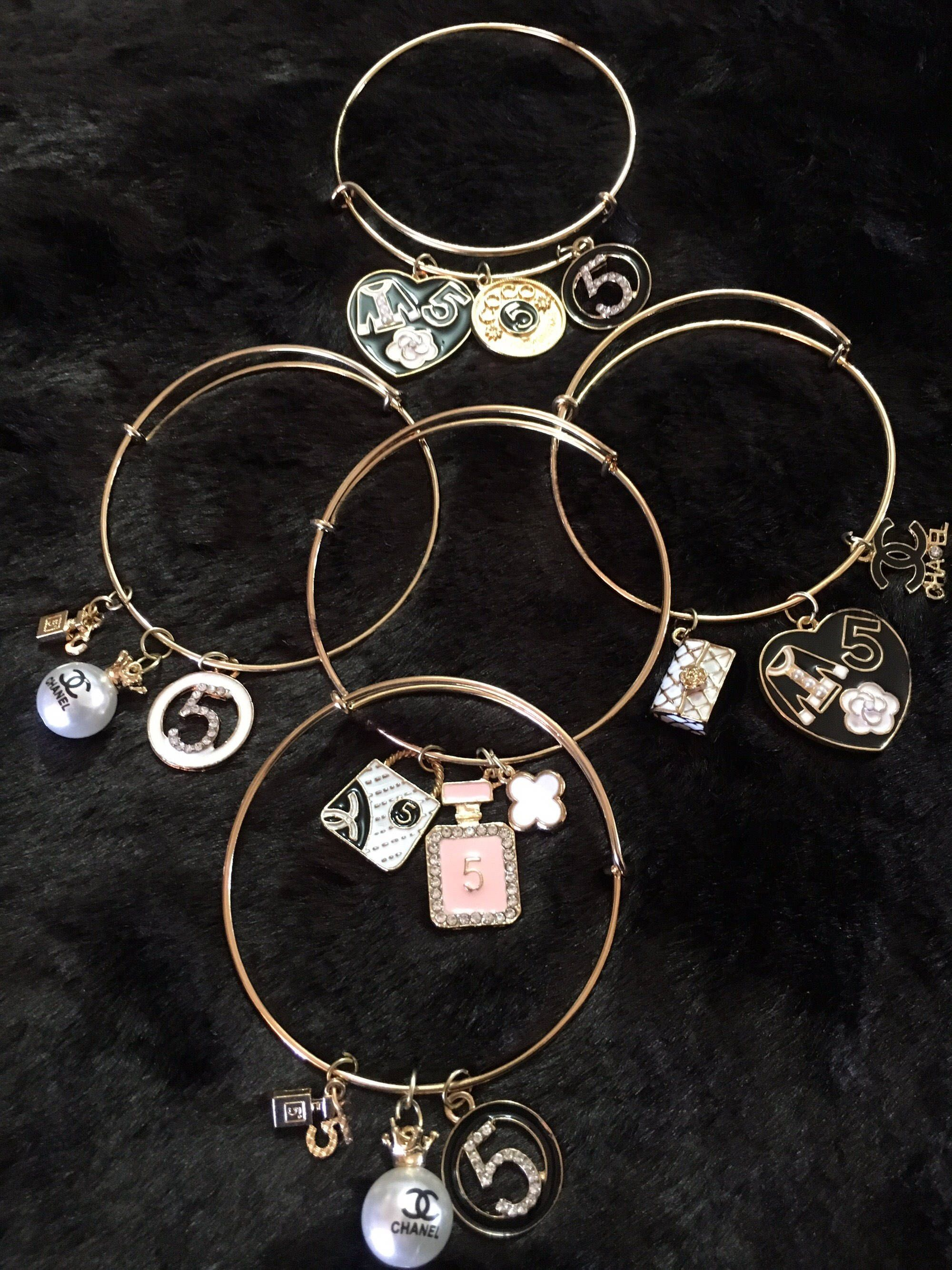 gallery bangle charm set coach lock normal jewelry product and lyst gold bangles metallic rosegold key in bracelets