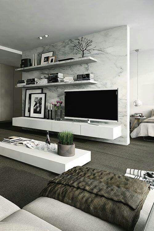 Ideas estupendas para muebles de tv | Muebles para tv modernos ...