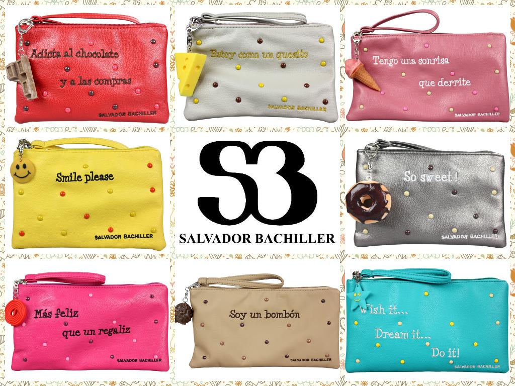 Bonita selección de bolsos de Salvador Bachiller.