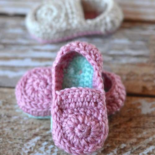 Crochet Baby Loafer Booties Pattern Crochet Baby Crochet And Patterns