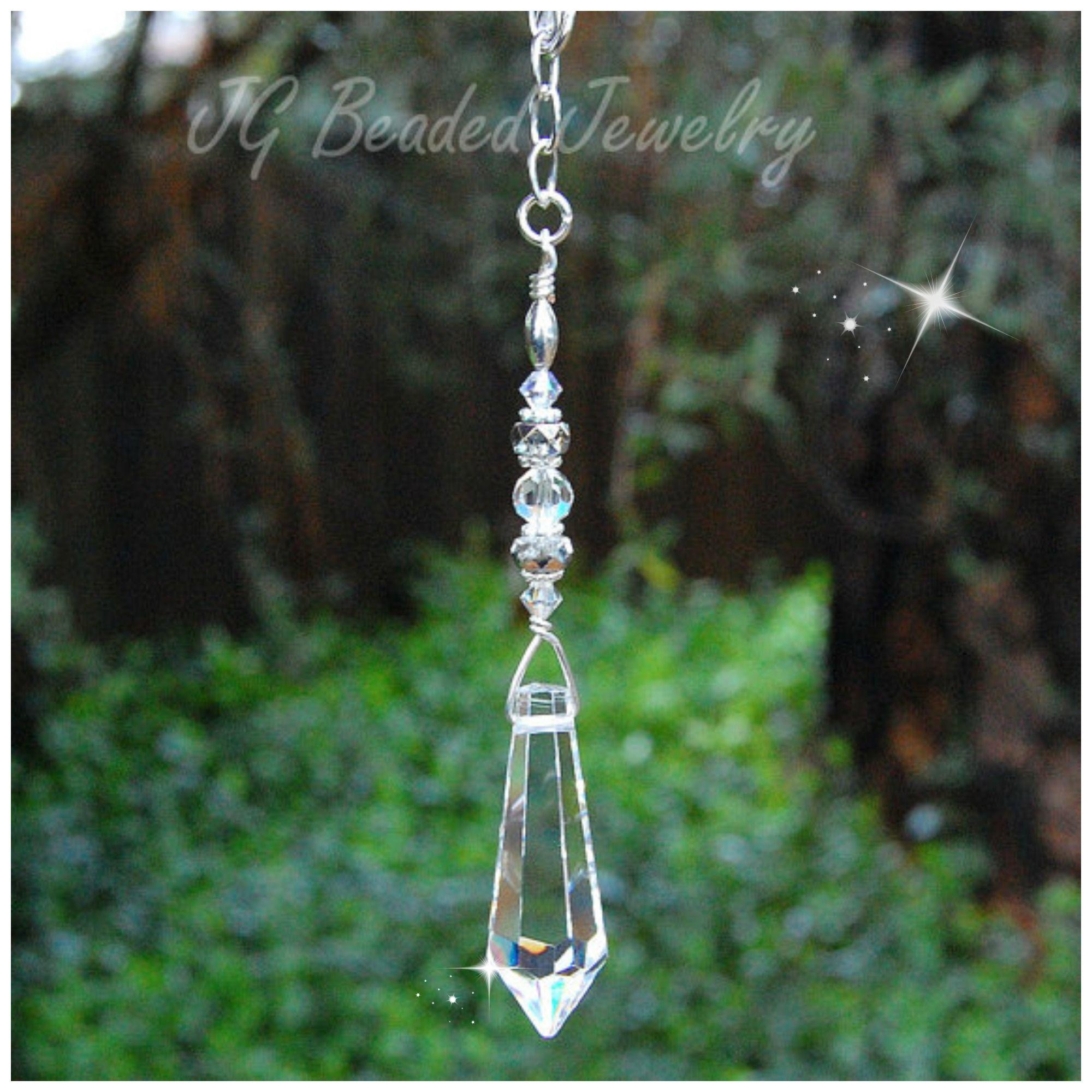 Teardrop Crystal Decoration Jgbeads Crystal Suncatchers Hanging Crystals Crystal Decor