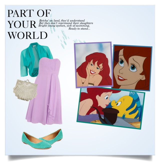 """""""Part of Your World"""" by plasticpingu ❤ liked on Polyvore"""
