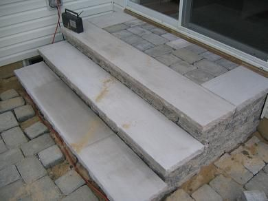 Ordinaire EP Henry Pewter Blend Covenrty Wall Steps With Limestone Treads